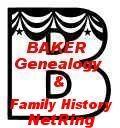 BAKER Genealogy & Family History NetRing
