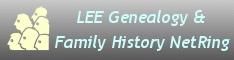 LEE Genealogy & Family History NetRing