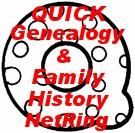 QUICK Genealogy & Family History NetRing