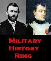 Military History Ring main banner